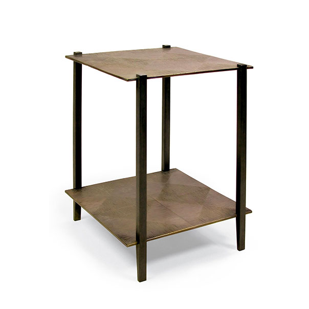 Tuell and Reynolds - Hakone 4 Square Side Table