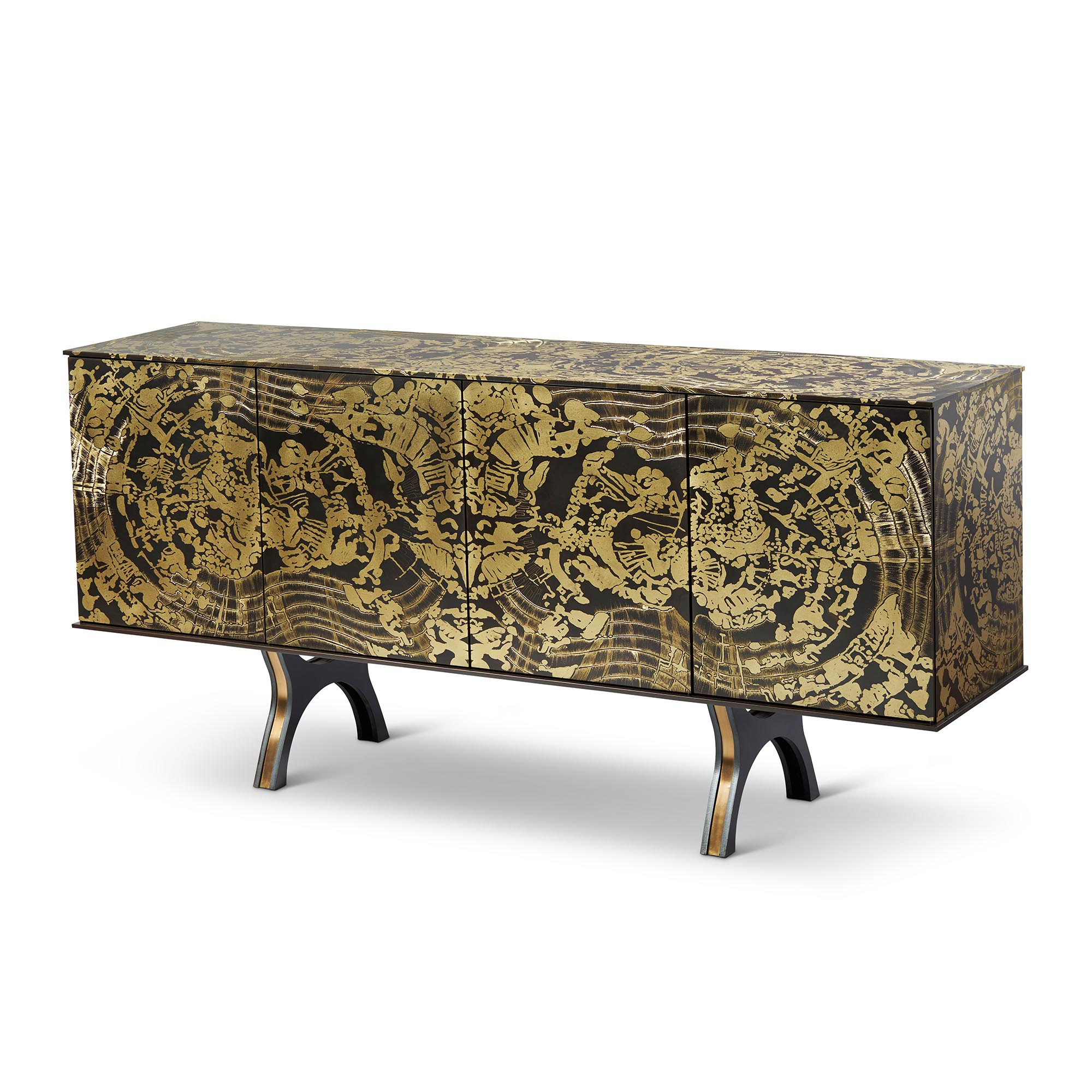 Tuell and Reynolds - Rorschach Sideboard Cabinet