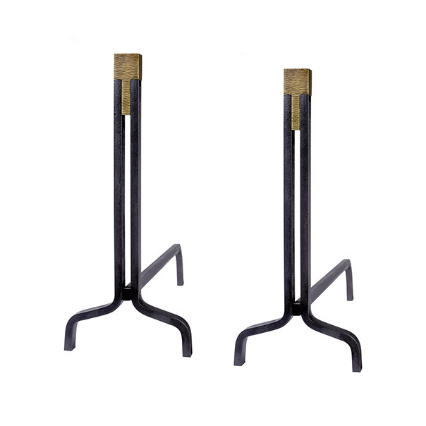 Tuell and Reynolds - Vermont Andirons